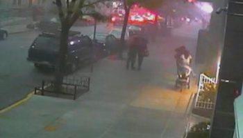 Видео: Страшный ураган в Нью-Йорке (ТОРНАДО)