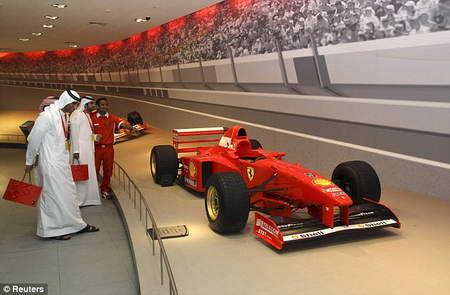 Техно-Парк Феррари открылся в Абу-Даби