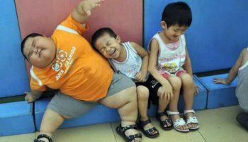 Самый толстый мальчик Сяо Хао живет в Китае