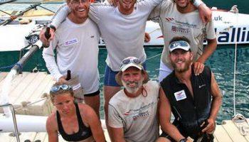 Одна женщина и пять мужчин: мировой рекорд пересечения Атлантики на веслах