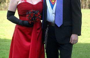 Свадьба в стиле героев комикса Superman
