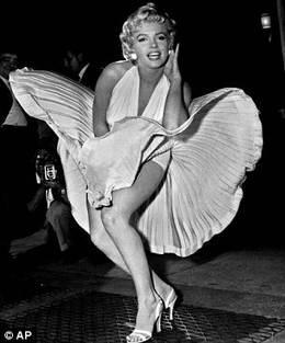 Легендарное белое платье Мерилин Монро