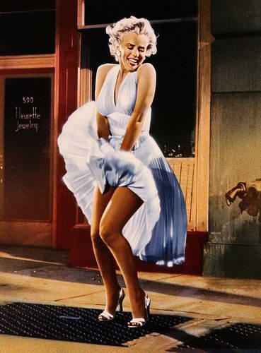 Знаковое белое платье Мэрилин Монро
