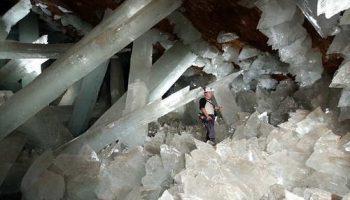 Удивительная пещера из кристаллов в Мексике должна быть под охраной ЮНЕСКО