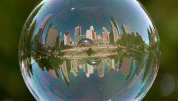 Реальный поп-арт: Потрясающие фотографии пейзажей, отраженных в пузыре