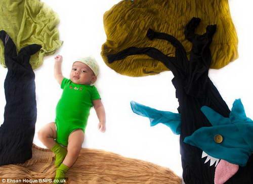 Картины с 4-х месячным ребенком