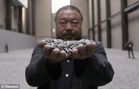 Китайский художник Ай Вэй Вэй