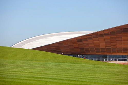Олимпийский велотрек (Hopkins Architects)