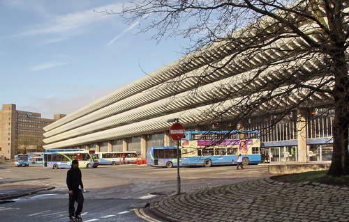 Автобусная станция Пристона