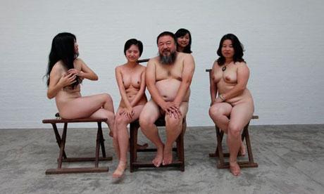 Ай Вей-Вей и 4 обнаженных женщины