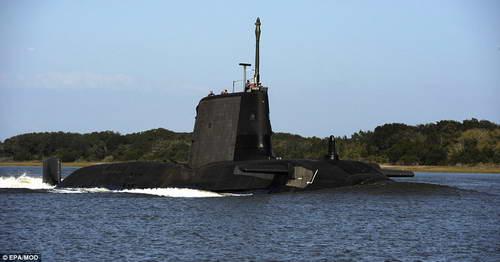 АПЛ ВМФ Англии Astute