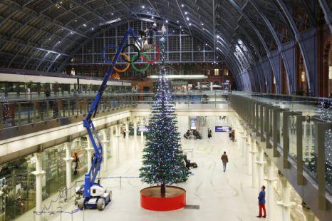 Рождественская елка из лего