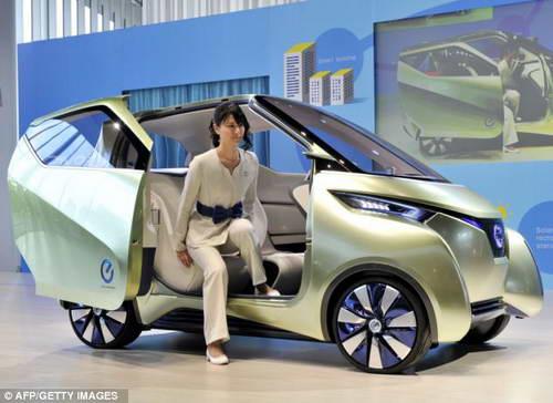 Новый концепт Pivo 3 EV от Nissan
