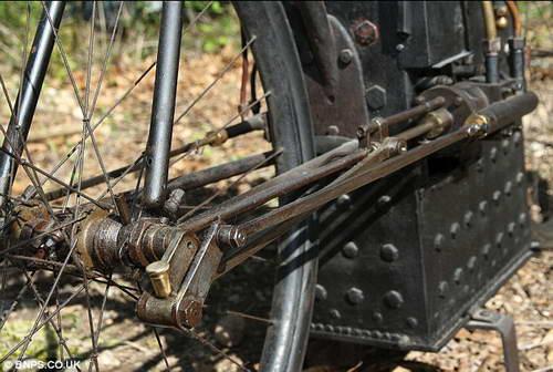 Паровой велосипед