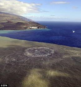 Подводный вулкан около Эль Йерро