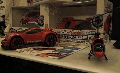 'Wi-Spi' и 'Intruder' - хай-тек шпионские игрушки