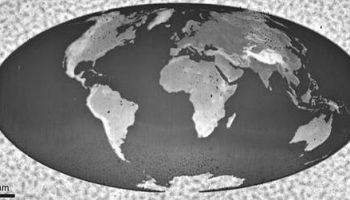 Специалисты IBM создали карту мира размером с кристалл соли