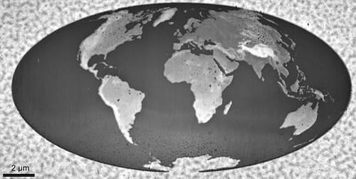 Карта мира в Книге рекордов Гиннеса