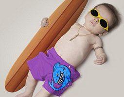 """Фотографии младенцев """"взрослыми"""" – модное хобби молодых родителей"""