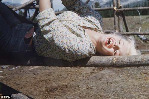 Мэрилин Монро - неизвестное фото