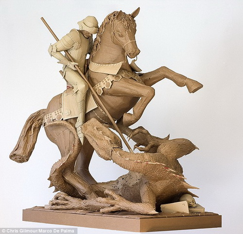 Скульптуры Криса Гилмора