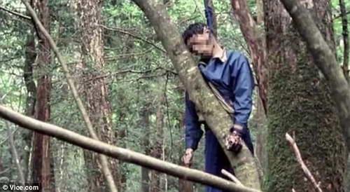 Самоубийца на Фудзи