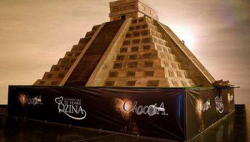 Шоколадный храм Майя более 8 тонн – новая заявка в Книгу рекордов Гиннеса
