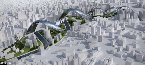 Архитектурный проект района Сучжоу крик, Шанхай