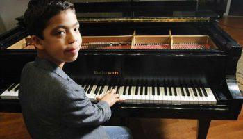 Итан Бортник в Книге рекордов Гиннеса как самый молодой музыкант с сольными концертами