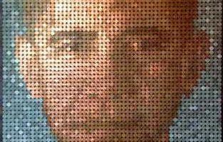 Эван Вондоловски создает портреты известных людей из старых денег