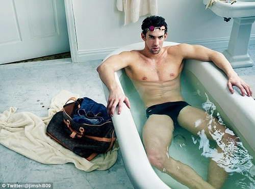 Майкл Фелпс в рекламе Louis Vuitton