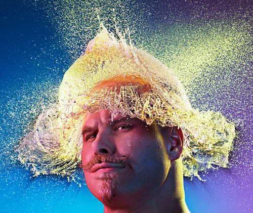 Водяной парик от Тим Тэддер