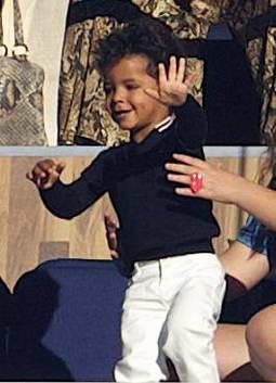 Двухлетний сын Криштиану Роналду