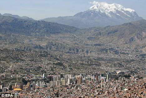 Эль-Альто пригород Ла-Пас, Боливия