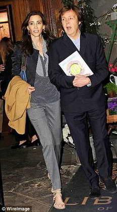 Пол Маккартни и Нэнси Шевелл (жена)