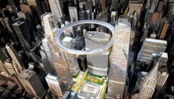 Уникальный проект кольцевого перехода над Центральным вокзалом Нью-Йорка
