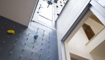 Уникальный дом для любителей скалолазания в Японии