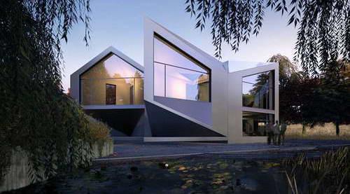 Дом оригами - проект Арни Дьюдени