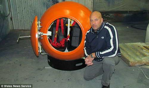 Спасательный аппарат при цунами