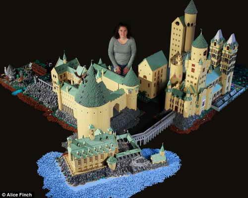 Замок Хогвартс из Гарри Потера
