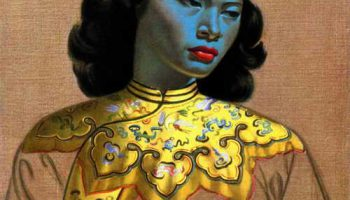 "Картина ""Китайская девушка"" Владимира Третчикова продана на аукционе за $1,5 млн."
