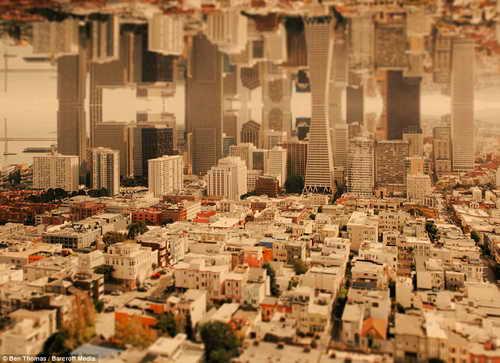 Башни Сан-Франциско сливаются в новый город