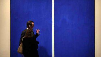 В Нью-Йорке продана картина абстракциониста Барнетта Ньюмана за $43,8 млн.