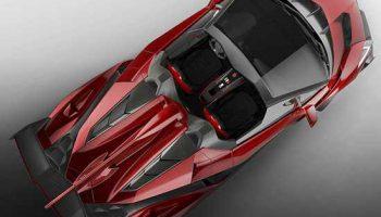 Lamborghini представил самый дорогой автомобиль Veneno Roadster за $5 млн.