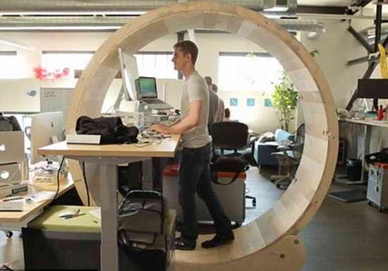 Колесо для офисных работников