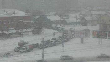 Снег в Кемеровской области выпал 3 сентября