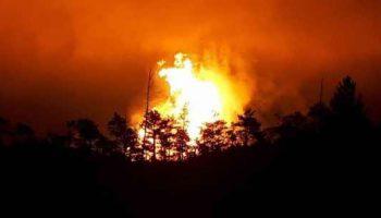 Видео Взрыв газопровода в Свердловской области 27 июля 2017