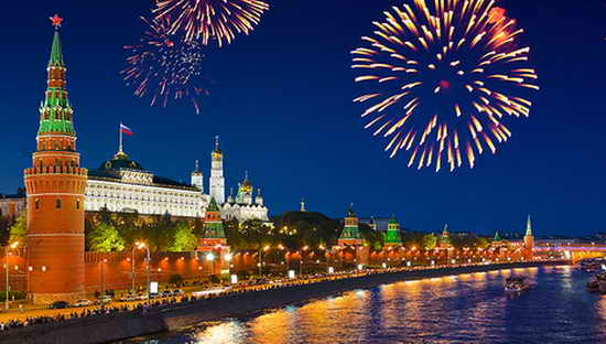 Москва. День города 2017