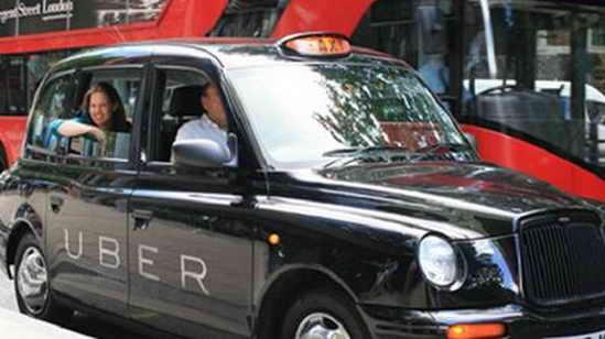 UBER такси в Лондоне