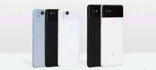 Смартфоны Pixel 2 и Pixel 2 XL